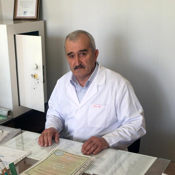 Шахрудинов Магомедкамиль Алисултанович
